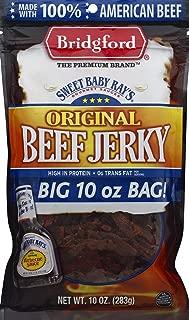 product image for BRIDGFORD Sweet Baby Ray's Original Beef Jerky, 10 Oz Jumbo Bag