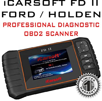 iCarsoft FD II for Ford / Holden Professional Diagnostic