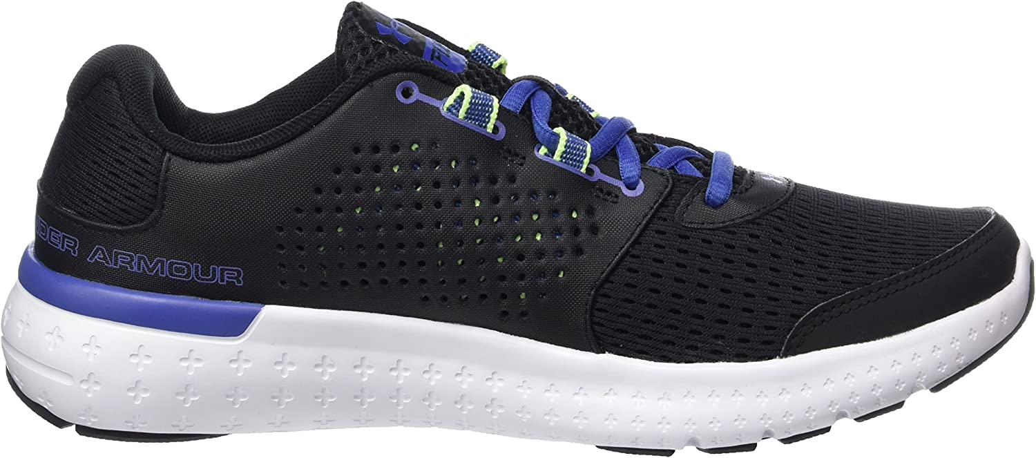 Under Armour UA W Micro G Fuel RN, Zapatillas de Running para Mujer Negro Black 002 eOvbQ