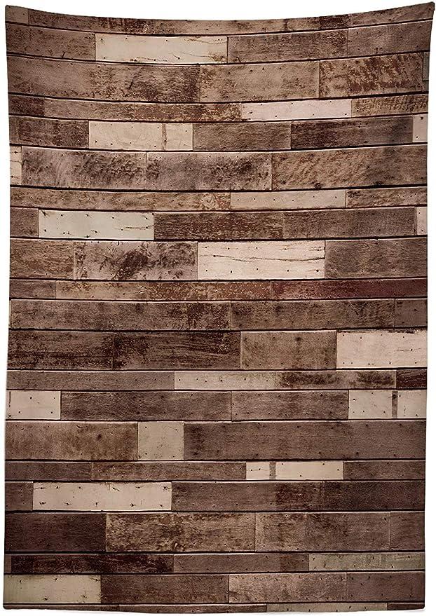 Yeuss - Mantel de Madera para Pared con Textura tableros Madera ...