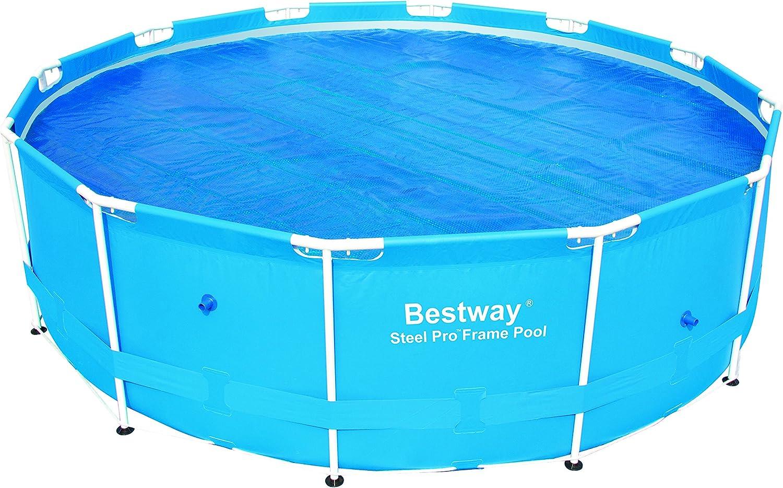 Bestway 58242 - Lona Solar para Piscina de Acero ProTM con Marco ...