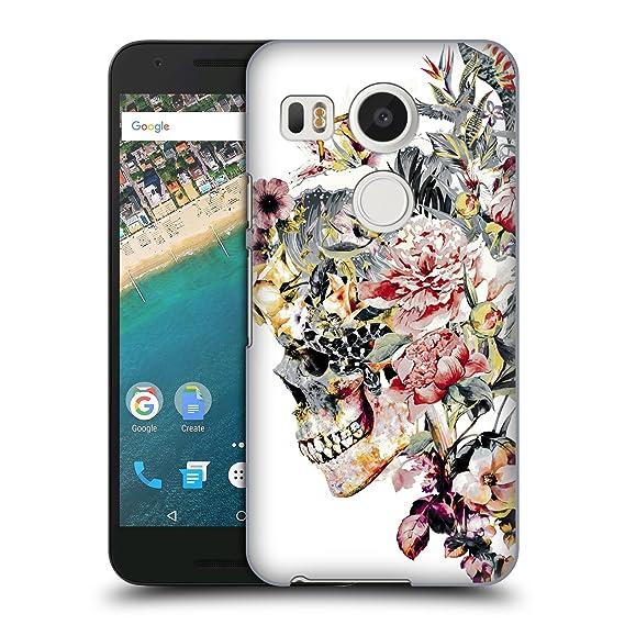 on sale 802e8 636c6 Amazon.com: Official Riza Peker XII Skulls 2 Hard Back Case for LG ...