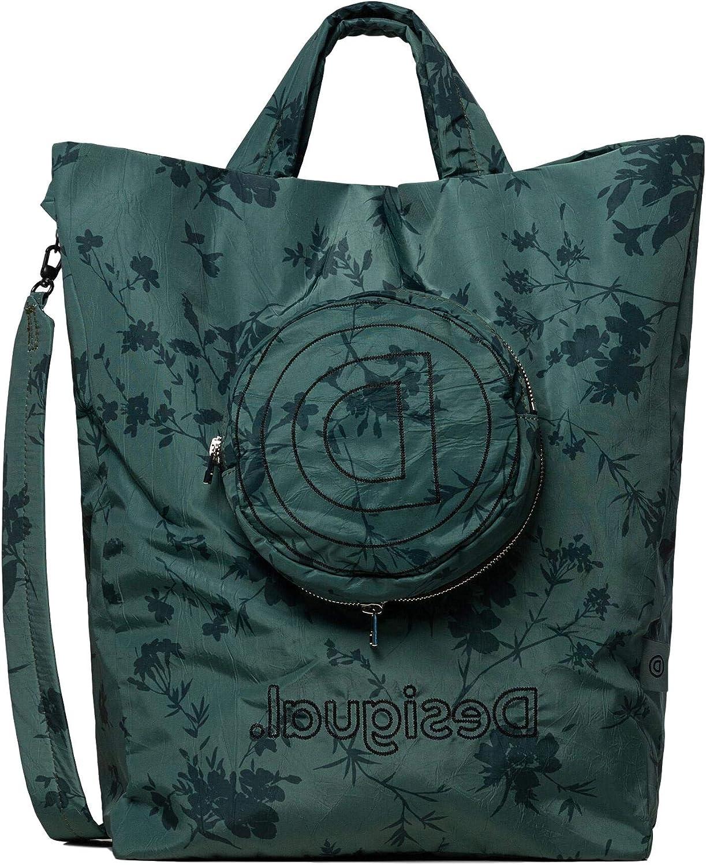 Desigual Bio Patching Waist Bag Gürteltasche Tasche Amarillo Trig Gelb Blau Neu