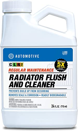 CLR PRO Automotive Regular Maintenance Radiator Flush and Cleaner, 24 Ounces (Pack of 6)