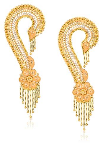 2d02c2004b5ad Senco Gold 22k Yellow Gold Drop Earrings