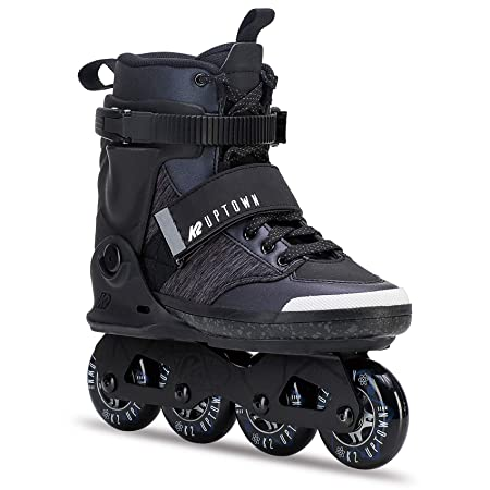 K2 Skate Men s Uptown Inline Skate, Black Purple