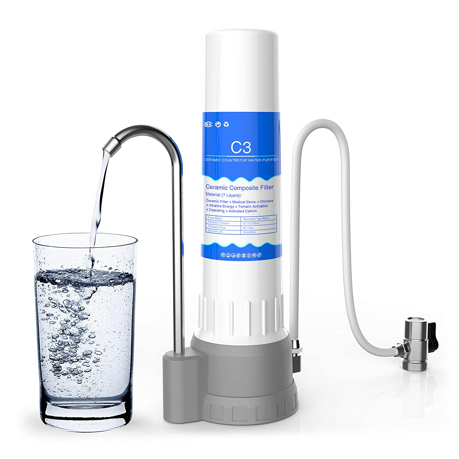 Best Water Filter Countertop Ceramic - Your Home Life