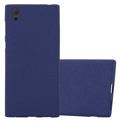 Cadorabo Funda para Sony Xperia L1 en Frost Azul Oscuro ...