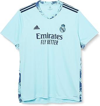 adidas Real Madrid Temporada 2020/21 Real H Gk JSY Camiseta Portero Primera equipación Unisex Adulto