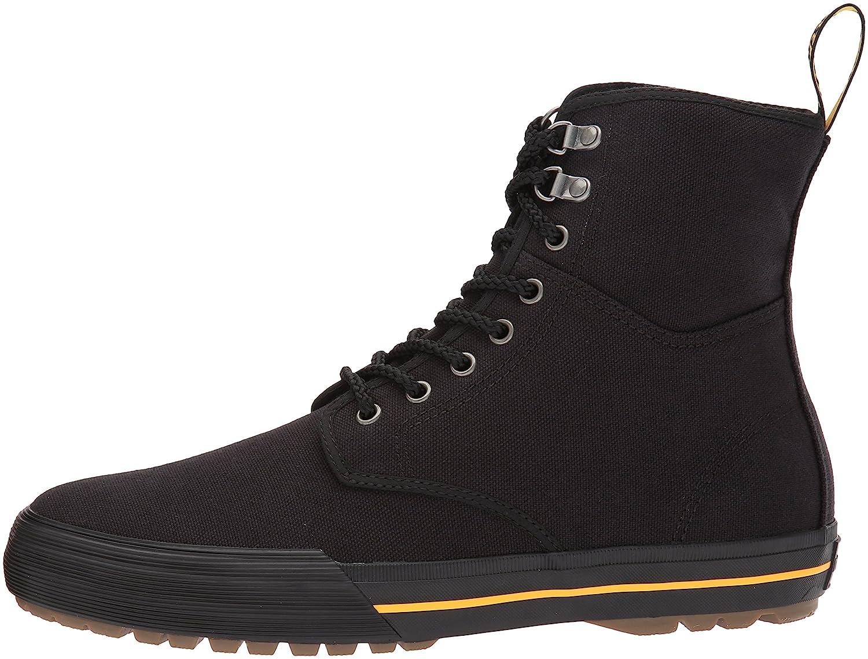 Dr. Martens Winsted Black Canvas Fashion Boot B01MY3EC1G 12 Medium US) Black UK (US Men's 13 US) Black Medium 498561