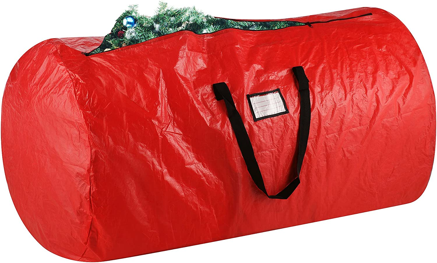 Elf Stor 83-DT5011 1012 Deluxe Red Holiday Christmas Storage Bag Large for 9 Foot Tree