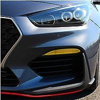 Folieset mistlampen dagrijverlichting tunefolie sticker op maat gesneden auto accessoires C046 (DTM Yellow)