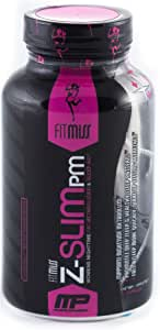 FitMiss Z-Slim PM, Women's Nighttime Weight Loss Capsule Promotes Healthy Sleep Patterns, Metabolism Booster & Weight Loss Supplement, 60 Count, 30 Servings