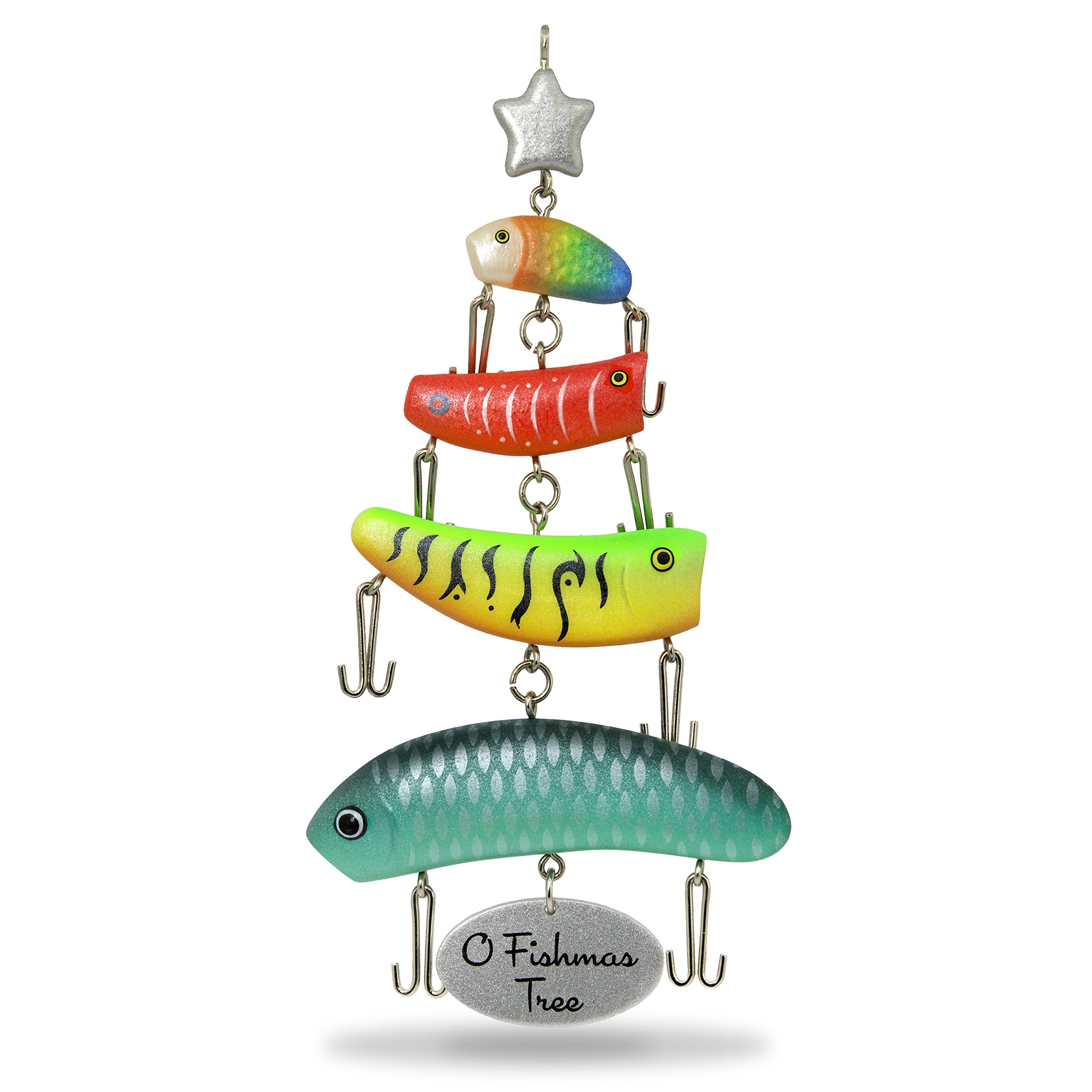 Hallmark Keepsake Christmas Ornament 2018 Year Dated: Hallmark 2018 O Fishmas Tree Christmas Ornament