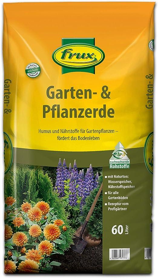 frux - Tierra para jardín y plantas (60 L): Amazon.es: Jardín