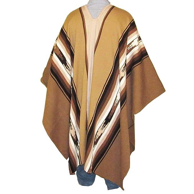 Amazon.com: Machu Picchu Store - Poncho de alpaca para ...