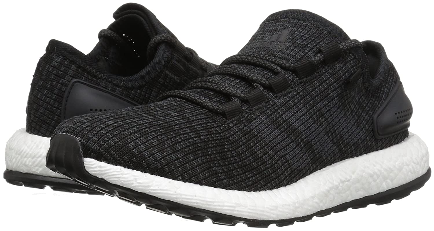adidas Performance Men's US|Black/Dark Pureboost Running Shoe B01MT1MNSL 16 D(M) US|Black/Dark Men's Solid Grey/Black 693264
