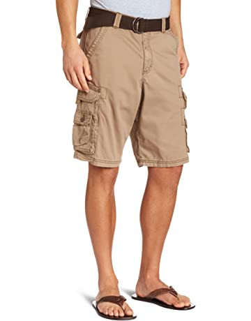 c1247ce412 LEE Men's Big & Tall Dungarees Belted Wyoming Cargo Short