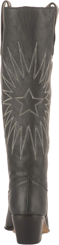 Miglio Boots Santiag Femme Gris Bleu Gris