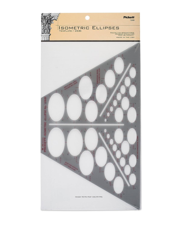 Amazon.com : Pickett Four-In-One Ellipse Template (1262I ...