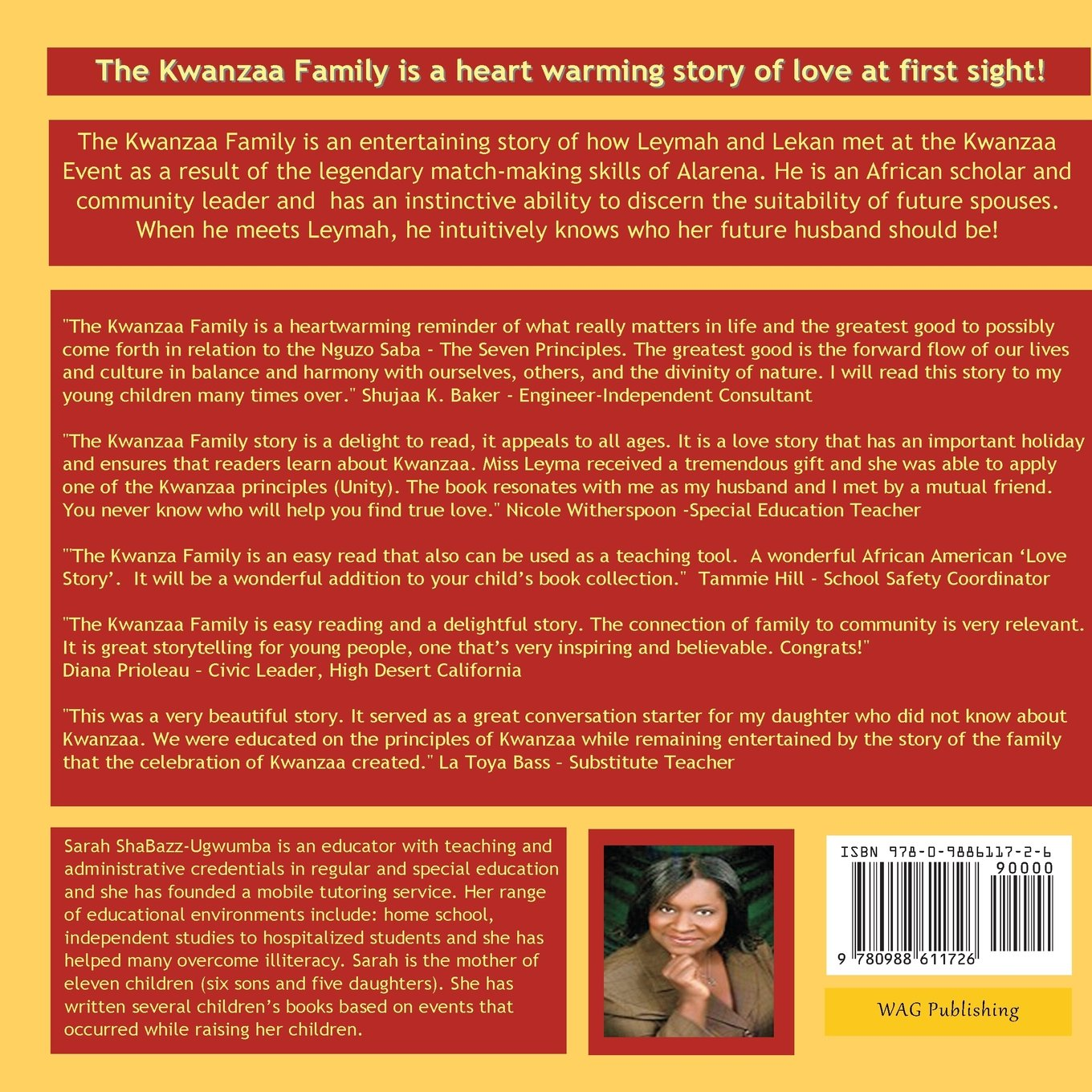 The Kwanzaa Family by WAG Publishing (Image #2)