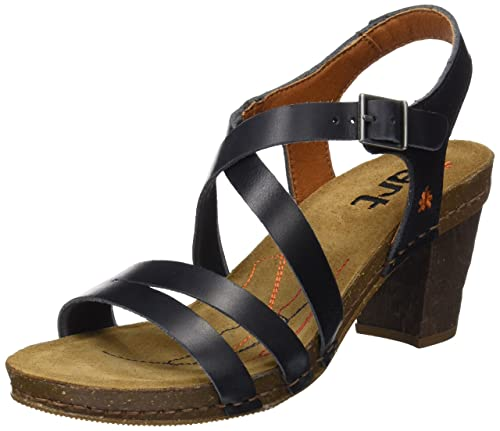 f23f3cb5b949a Art Women s 0146 Mojave Vachetta Black I Meet Open Toe Sandals ...