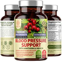 N1N Premium Blood Pressure Support with Hawthorn and Hibiscus [13 Potent Ingredients...