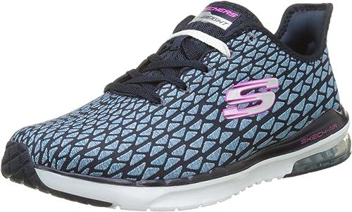 Skechers Skech Air Infinity Free Fallin Trainers Memory Foam Sports Shoes Womens | eBay