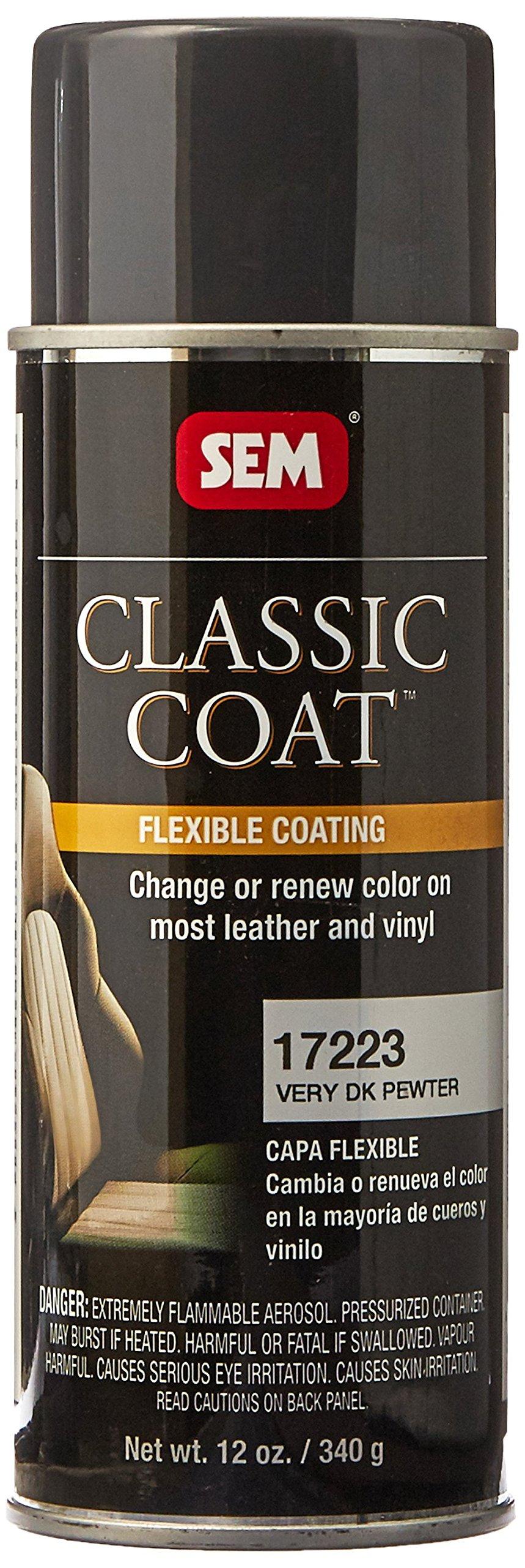 SEM 17223 Very Dark Pewter Classic Coat - 12 oz.