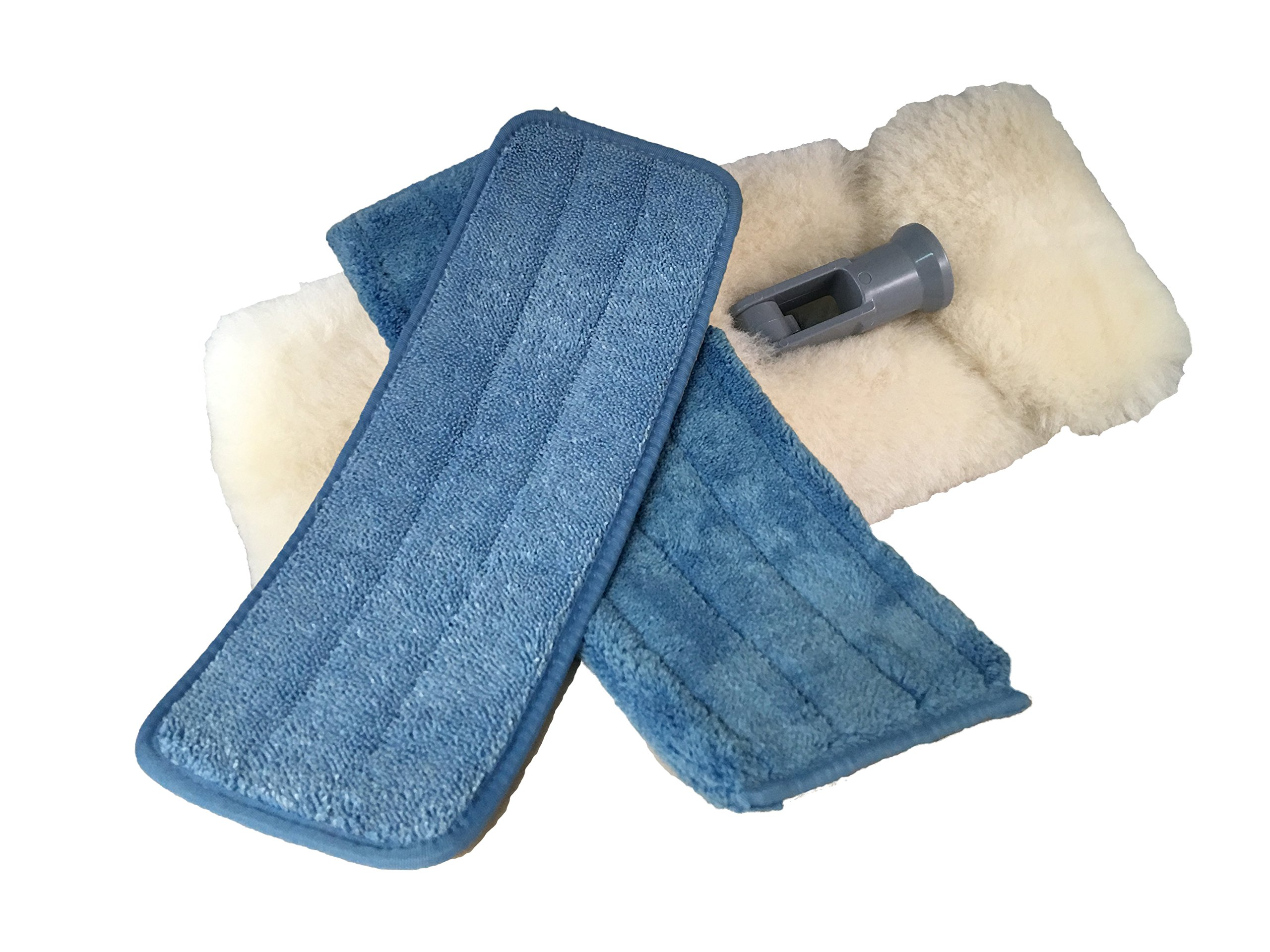 Mary Moppins 13'' Pure Lambswool Wash Kit for RV's by Mary Moppins