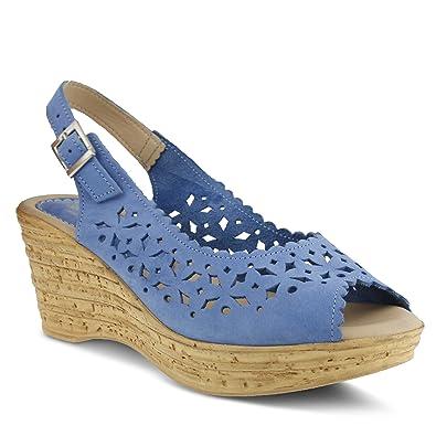 Damens's Spring Step Chaya Slide Sandale   Farbe Cobalt ... c833c9
