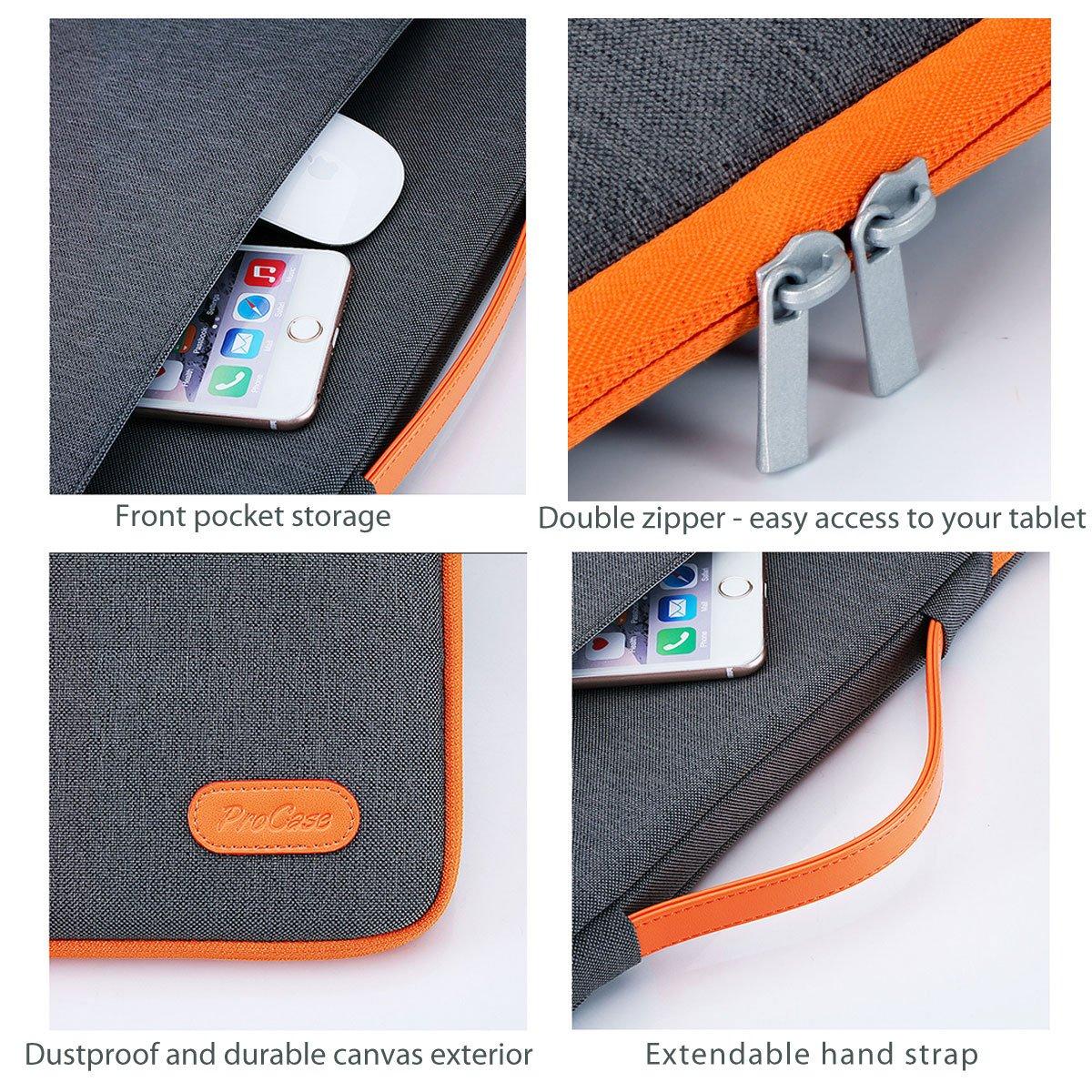 daa124330317e7 ProCase 14-15.6 Inch Laptop Sleeve Case Protective Bag, Ultrabook Notebook  Carrying Case Handbag for 14