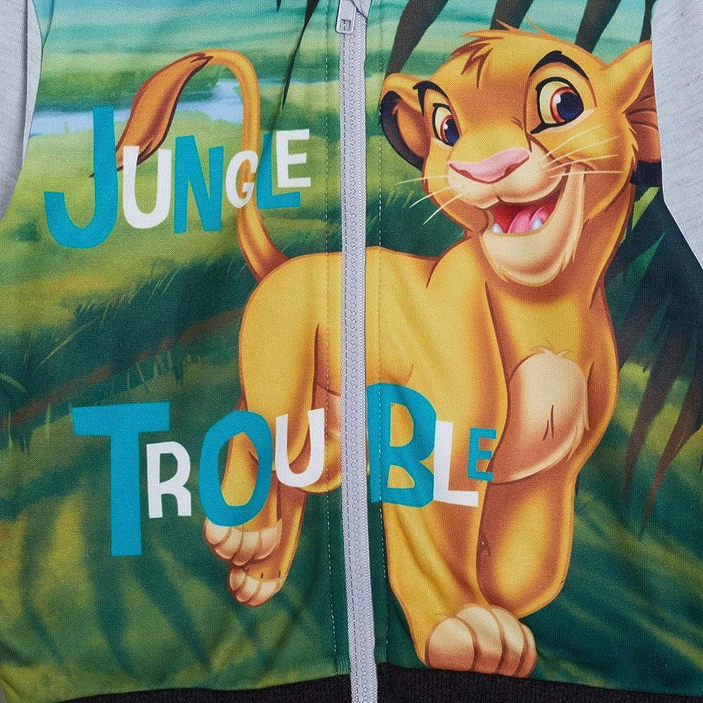 Disney The Lion King Felpa con Cappuccio e Zip Intera