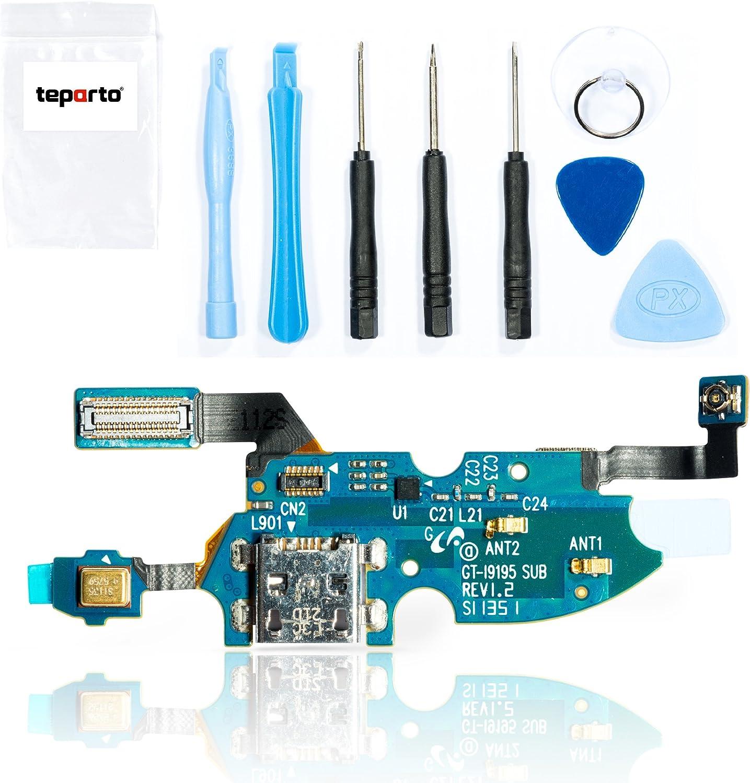 Conector USB teparto para Samsung Galaxy S4 mini i9195/i9190 con herramientas