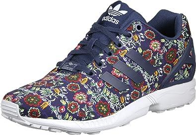 zx flux adidas damen blau