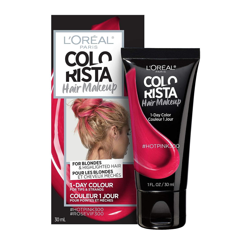 L'Oreal Paris Colorista Hair Makeup Temporary Hair Colour #Pinkviolet400, 30 mL L' Oreal Paris