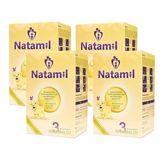 natamil 3 niños leche 4 unidades (4 x 800 ...