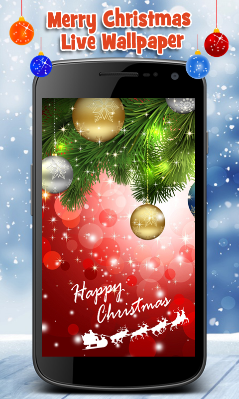 Amazon.com: Merry Christmas Live Wallpaper: Appstore for Android