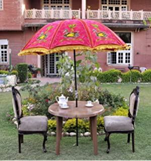 Outstanding Uml Ethnic Decorative Garden Parasol Large Vintage Outdoor  With Inspiring Uml Lalhaveli Decorative Cotton Vintage Summer Outdoor Patio Umbrella  Parasol Large Red  X  Cm With Delightful Come Into The Garden Maud Lyrics Also Hilton Garden Inn Oconomowoc Wi In Addition Garden House For Sale And Solar Panels In Garden As Well As Uk Garden Buildings Reviews Additionally Modern Garden Room From Amazoncouk With   Inspiring Uml Ethnic Decorative Garden Parasol Large Vintage Outdoor  With Delightful Uml Lalhaveli Decorative Cotton Vintage Summer Outdoor Patio Umbrella  Parasol Large Red  X  Cm And Outstanding Come Into The Garden Maud Lyrics Also Hilton Garden Inn Oconomowoc Wi In Addition Garden House For Sale From Amazoncouk