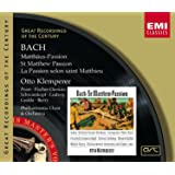 Bach J.S: St Matthew's Passion Import edition (2008) Audio CD