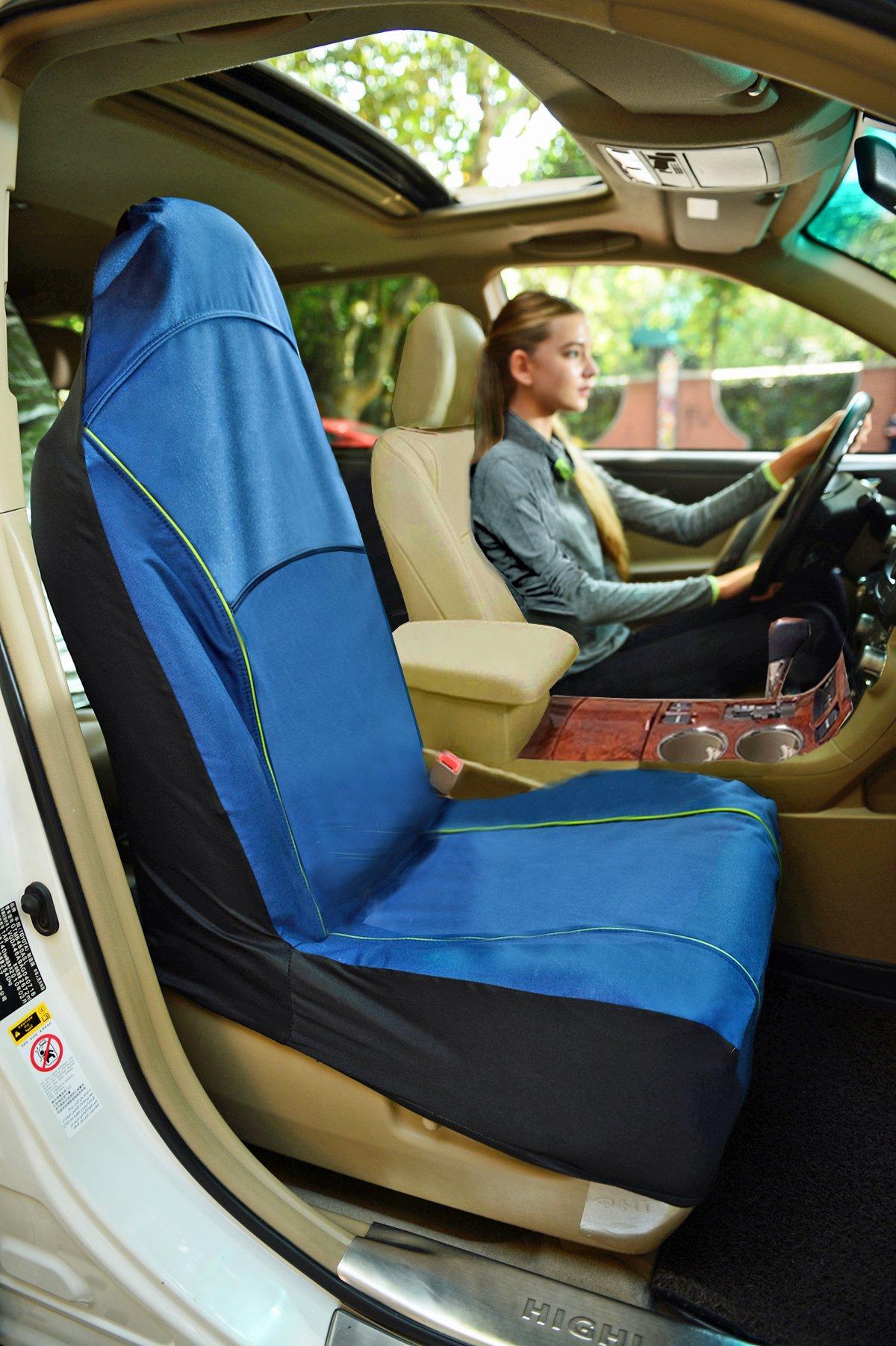 Iconic Pet Furrygo Single Car Seat Cover, Navy Blue