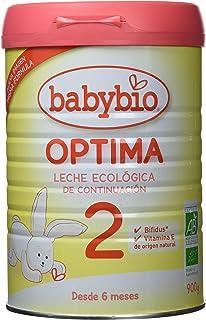 BabyBio - Leche 2 Optima Babybio 900 gr 6m+