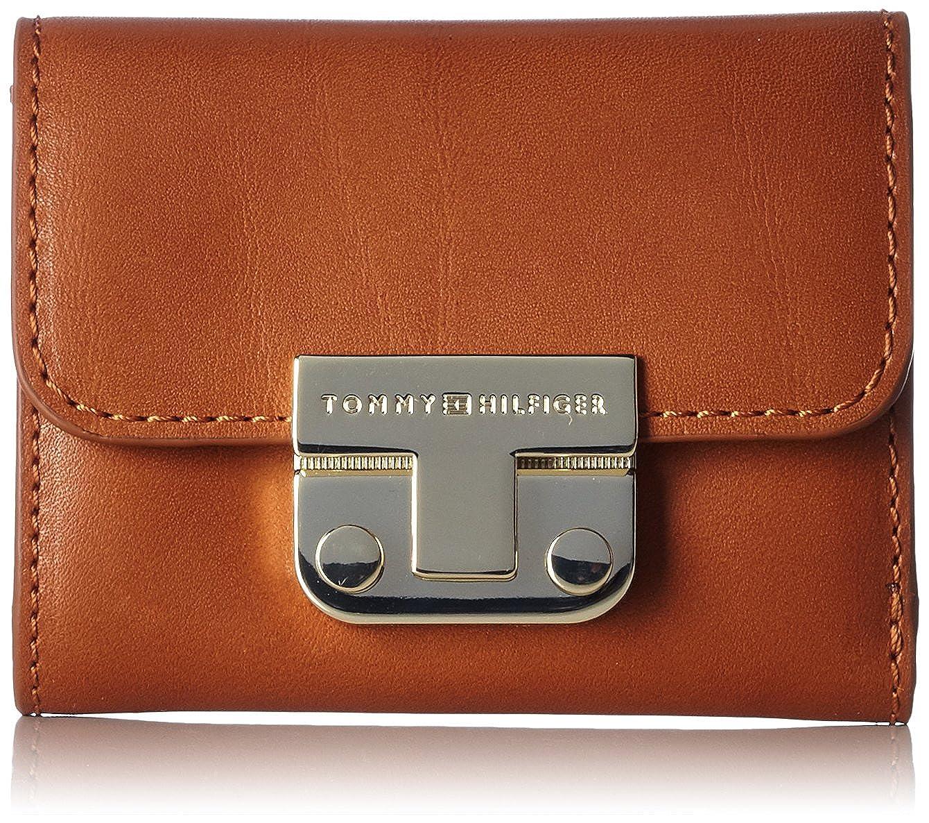 Tommy Hilfiger Femme Portefeuilles Fashion Hardware Small Flap Wallet