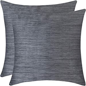 Giveaway: The White Petals Grey Throw Pillow Covers for Sofa