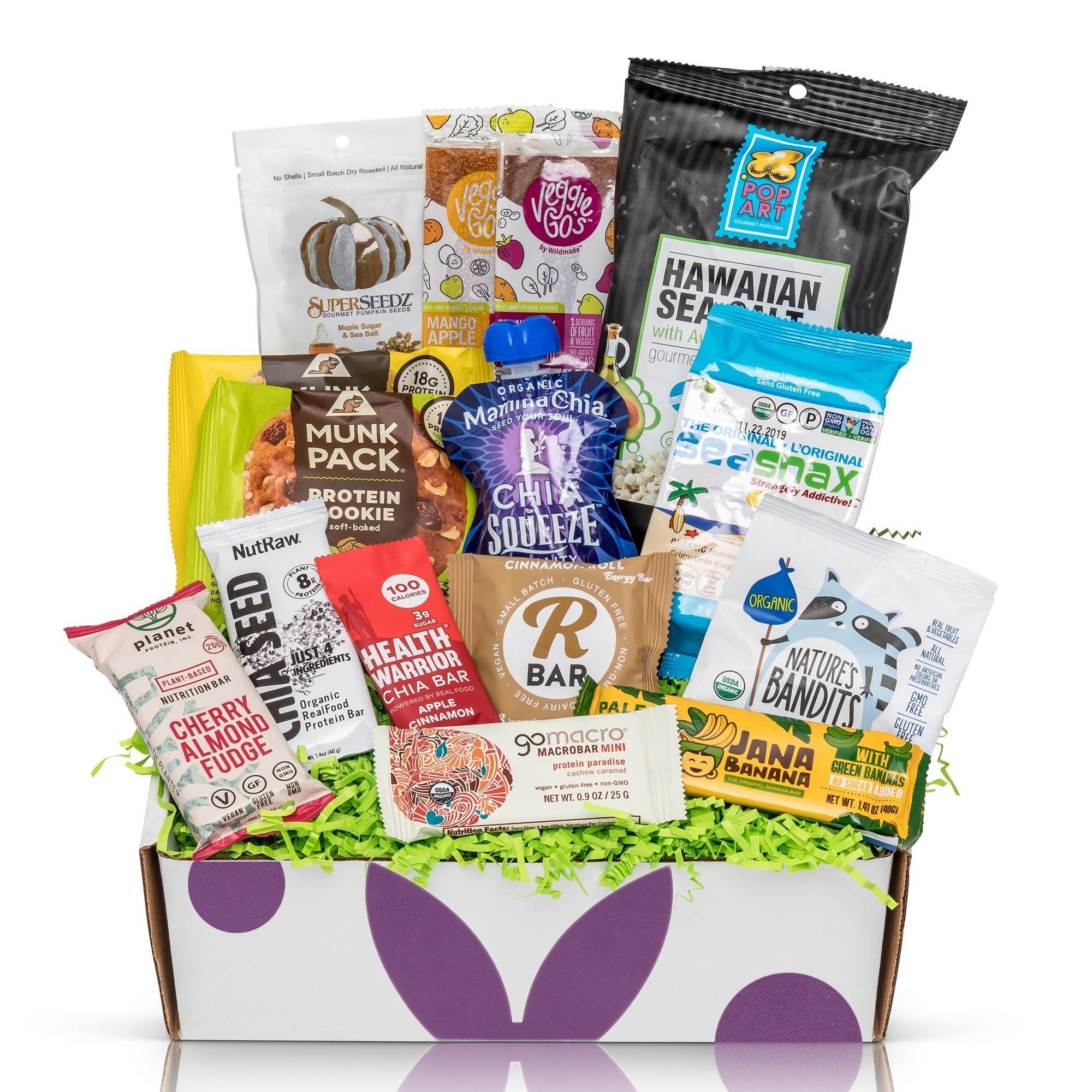 Bunny James Box - Hand Selected Premium Snacks Subscription: Vegan Gluten Free