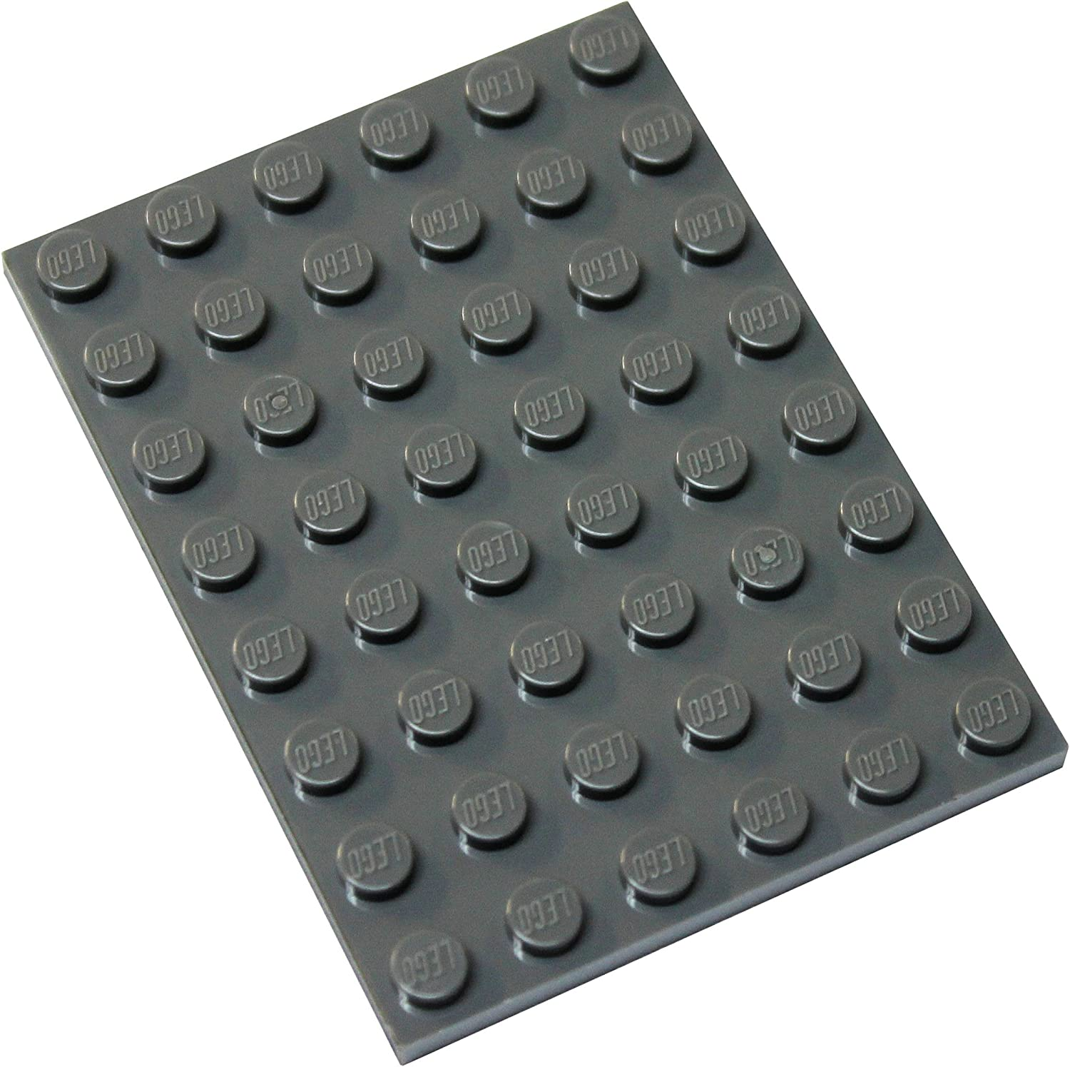 LEGO Parts and Pieces: Dark Gray (Dark Stone Grey) 6x8 Plate x20