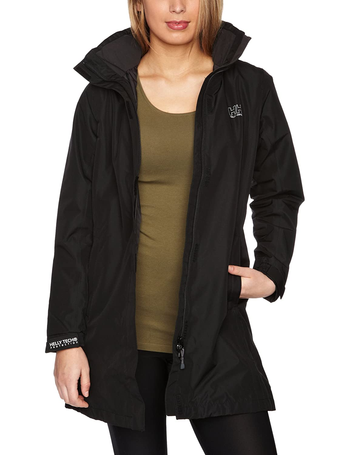 Long Rain Jacket Women'S 5Ivrs1