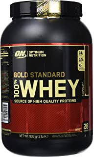 Optimum Nutrition Gold Standard 100% Whey Proteína en Polvo, Extremo Chocolate con leche -