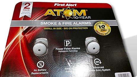 Amazoncom First alert smoke Fire alarms 2 pk fewer false alarms
