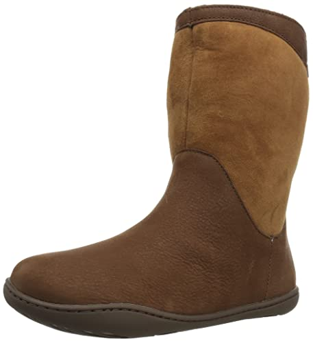CAMPER Damen Peu Cami Kurzschaft Cowboystiefel, Braun (Medium Brown 210), 41 EU